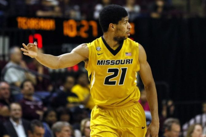 Missouri's Jordan Barnett Arrested on Suspicion of DWI